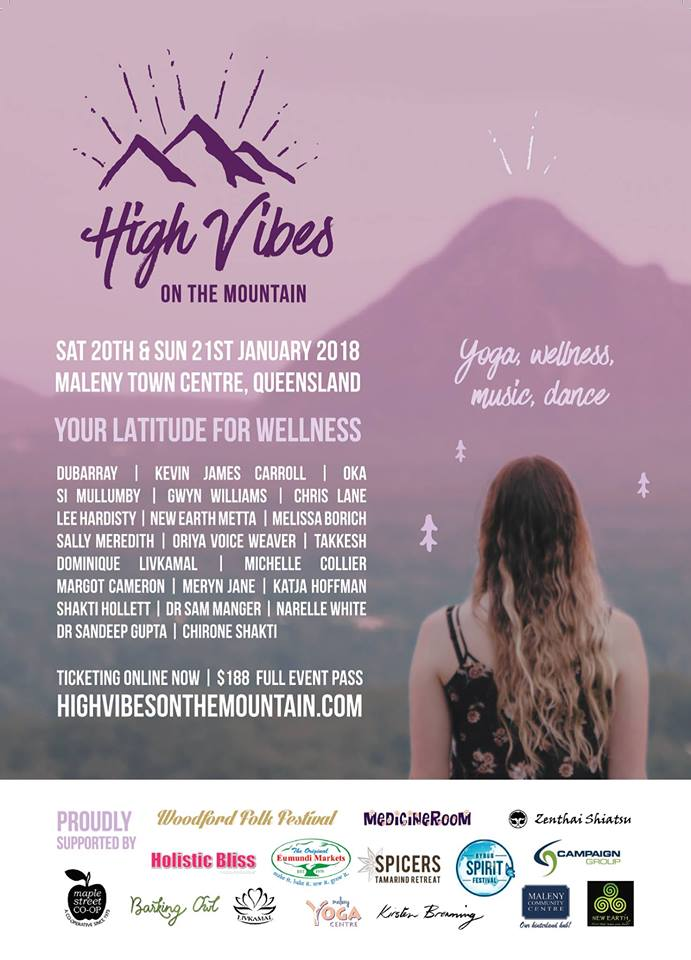 HIGH VIBES ON THE MOUNTAIN | Maleny Community Centre